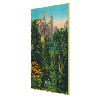 Cathedral Spires and Yosemite Valley Canvas Print
