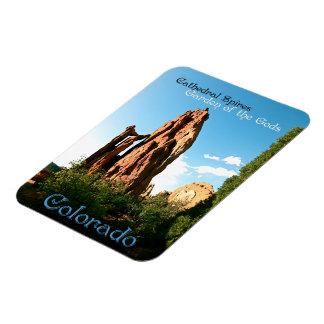Cathedral Spires ~ Garden of the Gods, Colorado Rectangular Photo Magnet