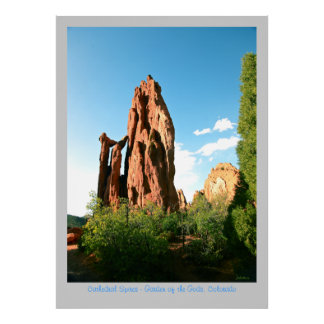 Cathedral Spires Poster