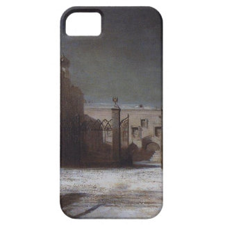 Cathedral Square in the Moscow Kremlin at night iPhone SE/5/5s Case