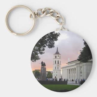 Cathedral Square in Vilnius, LITHUANIA --- Keychain