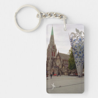 Cathedral Square Keychain