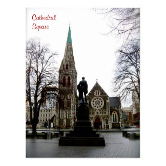 Cathedral Square Postcard