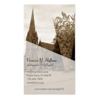 Cathedral Square (Sepia) Business Card