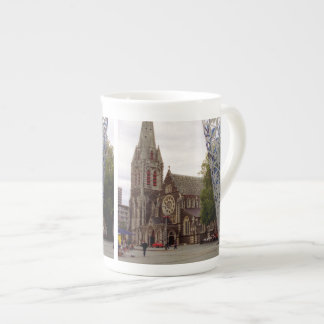 Cathedral Square Porcelain Mugs