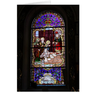 Cathedral Stain Glass Notecard