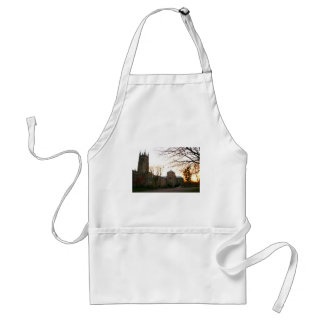Cathedral Sunset Adult Apron