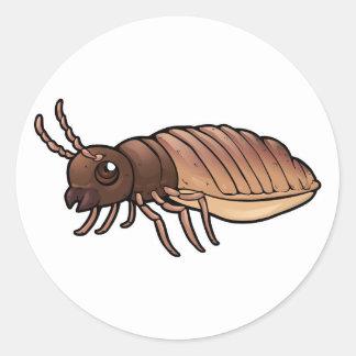 Cathedral Termite Classic Round Sticker