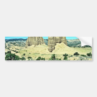 Cathedral Valley - Capitol Reef National Park Car Bumper Sticker