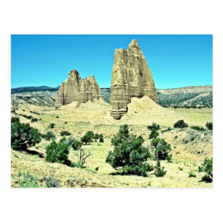 Cathedral Valley - Capitol Reef National Park Postcard