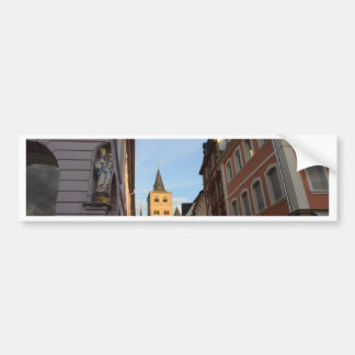 Cathedral View Trier Bumper Sticker