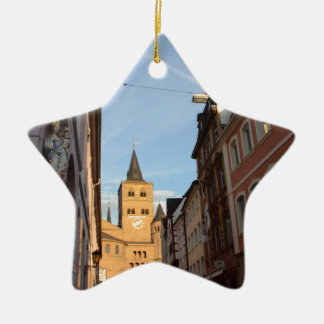 Cathedral View Trier Ceramic Ornament
