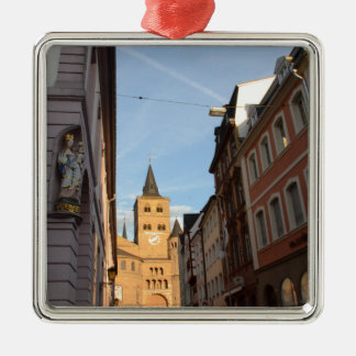 Cathedral View Trier Metal Ornament