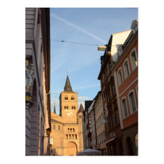 Cathedral View Trier Postcard