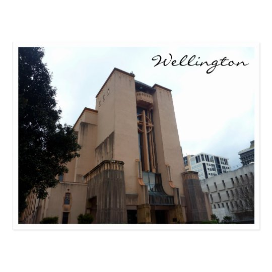 cathedral wellington postcard