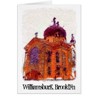 Cathedral, Williamsburg, Brooklyn Card