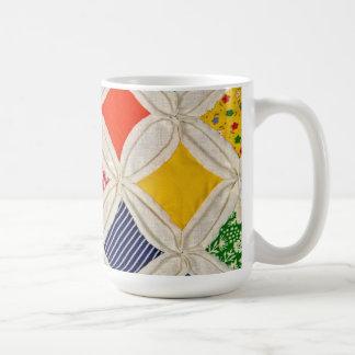 Cathedral Window Quilt design Coffee Mug