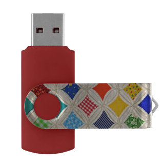 Cathedral Window Quilt USB Flash Drive