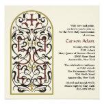 Cathedral Window Religious Invitation