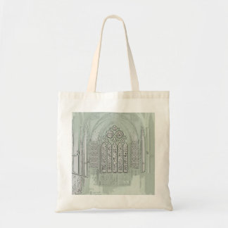 Cathedral Windows Tote Bag
