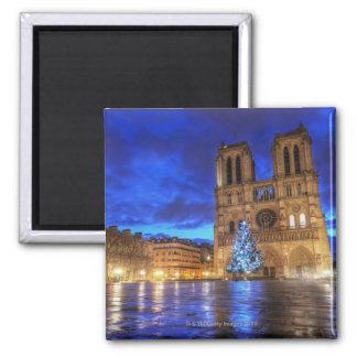 Cathédrale Notre-Dame de Paris 2 Inch Square Magnet