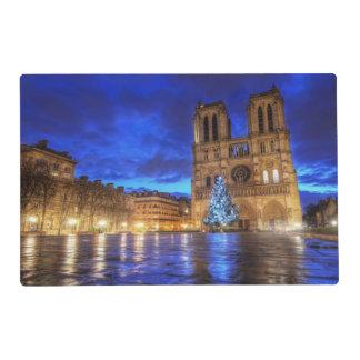 Cathédrale Notre-Dame de Paris Laminated Place Mat