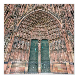 Cathedrale Notre-Dame, Strasbourg, France Card