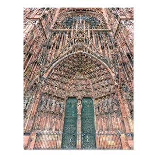 Cathedrale Notre-Dame, Strasbourg, France Flyer