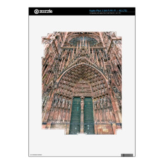 Cathedrale Notre-Dame, Strasbourg, France Skin For iPad 3