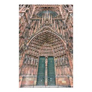 Cathedrale Notre-Dame, Strasbourg, France Stationery