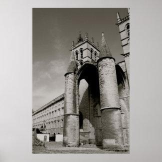 Cathédrale Saint-Pierre de Montpellier Poster
