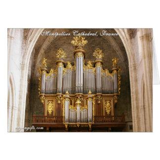 Cathédrale St Pierre de Montpellier, France Card