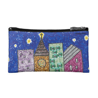 Cathedrals Cosmetic Bag