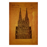 Cathedrals: Hohe Domkirche St. Peter und Maria Poster