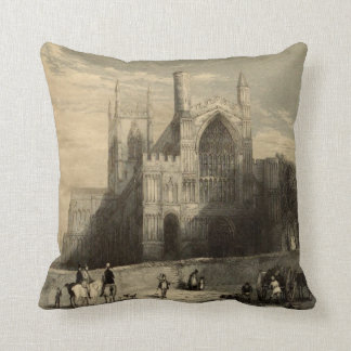 Cathedrals of England: Rochester 1836 Pillow