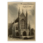 Cathedrals of England Series: Winchester 1836 Greeting Card