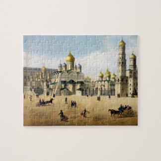 Cathedrals of the Annunciation and the Archangel, Jigsaw Puzzle