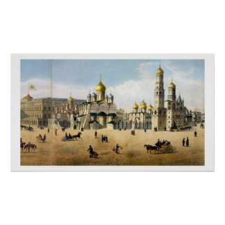 Cathedrals of the Annunciation and the Archangel, Poster
