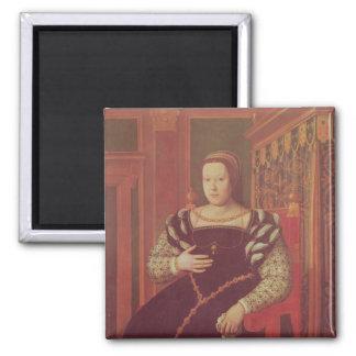 Catherine de Medici, 1585-86 2 Inch Square Magnet