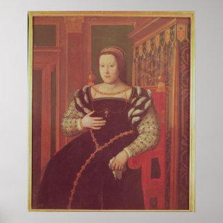 Catherine de Medici, 1585-86 Poster