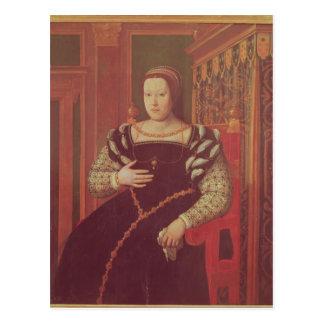 Catherine de Medici, 1585-86 Tarjeta Postal