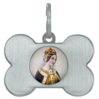Catherine de Valois, reina de Inglaterra Placas Mascota