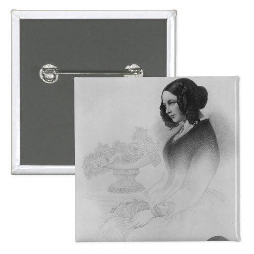 Catherine Dickens Pin Cuadrado
