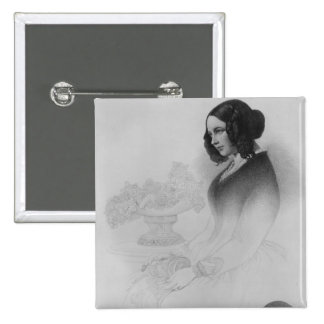 Catherine Dickens Pinback Button