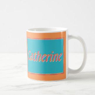 Catherine es mi nombre tazas