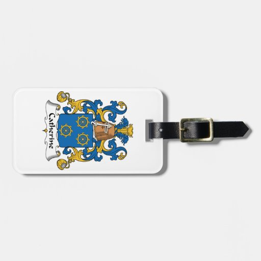 Catherine Family Crest Tag For Luggage
