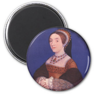 Catherine Howard 2 Inch Round Magnet