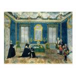 Catherine II recalling Chancellor Alexey Postcard