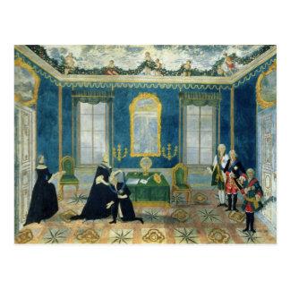Catherine II recalling Chancellor Alexey Post Card