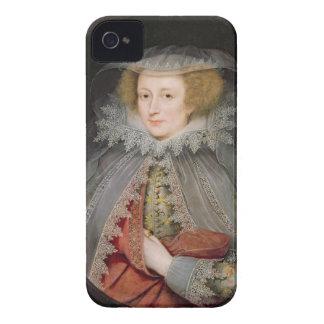 Catherine Killigrew, señora Jermyn, 1614 (aceite iPhone 4 Case-Mate Fundas
